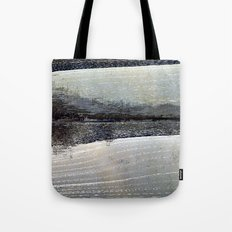 obliterated waveform Tote Bag