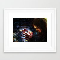 x men Framed Art Prints featuring X men by Luca Leona