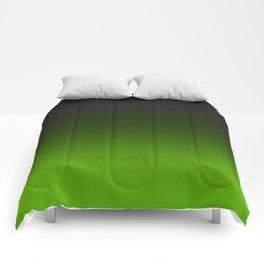 Ombre Lemon Green Comforters