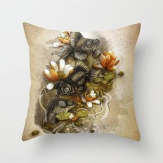 black moors Throw Pillow
