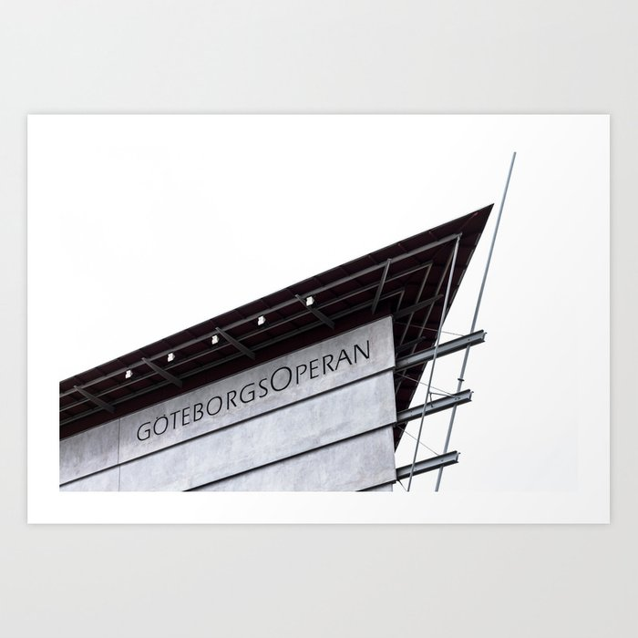 The Gothenburg Opera House Art Print