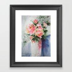 French Roses Framed Art Print