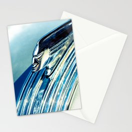 Profile In Chrome II Stationery Cards