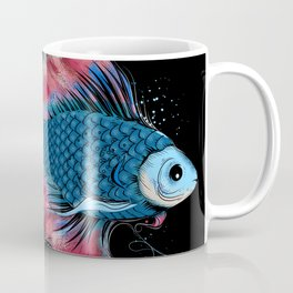 colorful fighting fish Coffee Mug