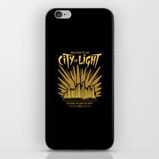 Welcome to the City of Light iPhone & iPod Skin