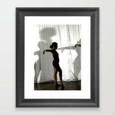 Dancer Trio number 2 Framed Art Print