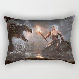 The Witcher - Ciri Concept Rectangular Pillow