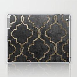 Paris Apartment Black Laptop & iPad Skin