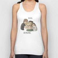 zayn Tank Tops featuring Goodbye Zayn by Aki-anyway