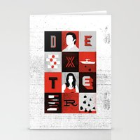 dexter Stationery Cards featuring Dexter by Bill Pyle