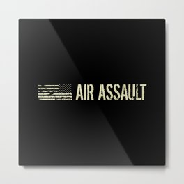 Black Flag: Air Assault Metal Print