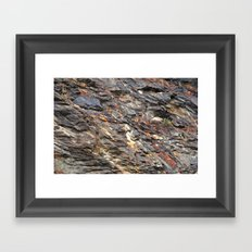 Rocky Mountain Texture  Framed Art Print