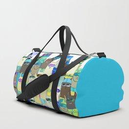 Snow? No Prob-Llama Alpaca My Board Duffle Bag