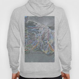 Mammoth Mountain Resort Trail Map Hoody