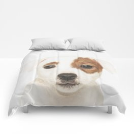 Jack Russell Puppy Comforters