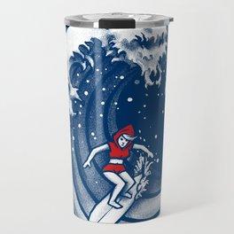 Little Red Surfing Hood Travel Mug