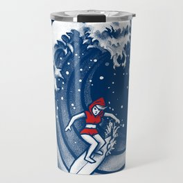 Little Red Surfing Hood Travel Mug