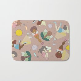 For the Love of Books Bath Mat