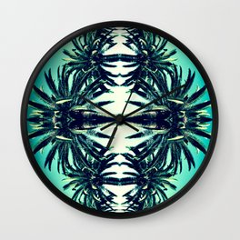 Palms in Cali Wall Clock
