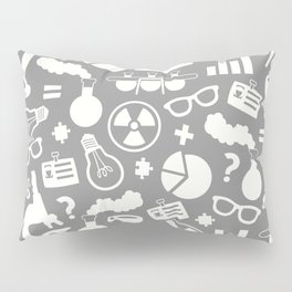 Grey Scientist Pillow Sham