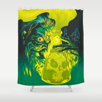 science Shower Curtains featuring MAD SCIENCE! by BeastWreck