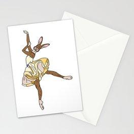 Bunny Rabbit Ballerina Tutu Stationery Cards