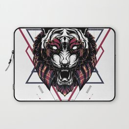 The Mythical Tiger sacred geometry Laptop Sleeve