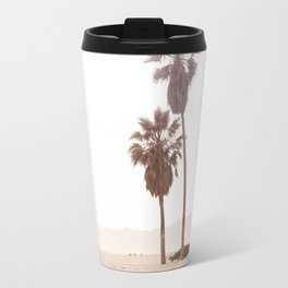 Vintage Summer Palm Trees Travel Mug
