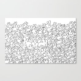 Pile of Buns Part Deux Canvas Print