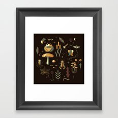 Countrylife #3 — Night Framed Art Print