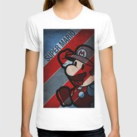 super mario T-shirts featuring SUPER MARIO by sbs' things