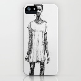 NOT AFRAID OF YOUR DARKNESS iPhone Case