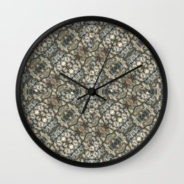 Urban Art Textured Print Pattern Wall Clock