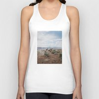 utah Tank Tops featuring Running Horses by Kevin Russ