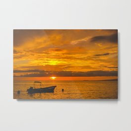 Puerto Vallarta sunset. Metal Print