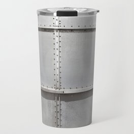 metal wall closeup Travel Mug