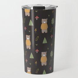 Bear in the Woods Travel Mug