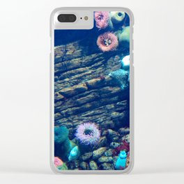 Underwater colors Clear iPhone Case