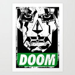 Obey DOOM Art Print