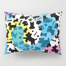 Crazy Dogs Pattern Pillow Sham