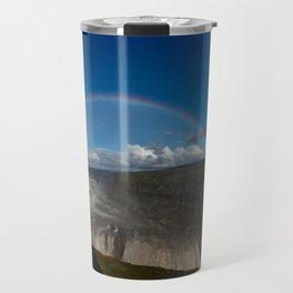 Iceland Rainbow Travel Mug