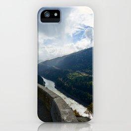 Mountains mist iPhone Case