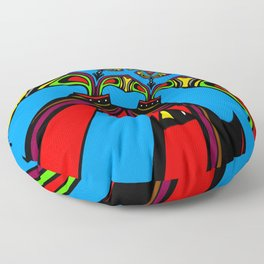 Polarized Floor Pillow