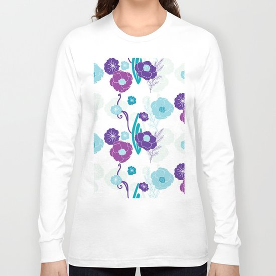 Floral pattern Long Sleeve T-shirt