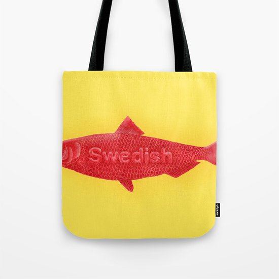 Swedish Fish Tote Bag
