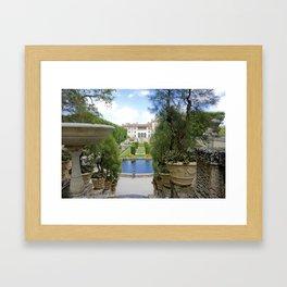 Vizcaya Museum & Gardens Framed Art Print