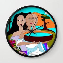 Water of Life Wall Clock