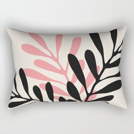 Still Life with Vase and Three Branches Rectangular Pillow