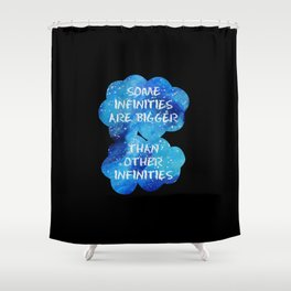 Infinities Shower Curtain