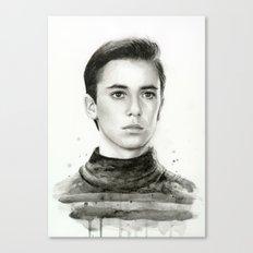 Wesley TNG Canvas Print